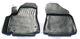 Коврики в салон Citroen Berlingo пер (96-) полиуретан (резиновые) Lada Locker