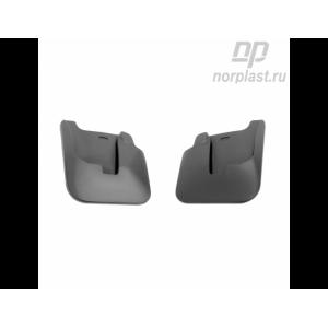Брызговики Honda Civic 4D (06-12) передние комплект - Norplast