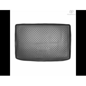 Коврик в багажник Reno Clio хетчбек резиновые Norplast