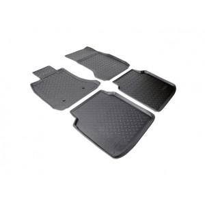 Коврики BMW 7 (09-) Long резиновые Norplast