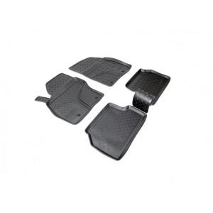 Коврики Ford Focus II (08-) резиновые Norplast