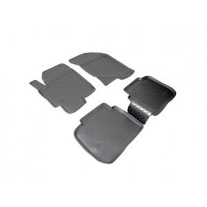 Коврики Hyundai Elantra (03-) резиновые Norplast