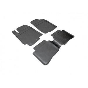 Коврики Hyundai Solaris (10-) резиновые Norplast