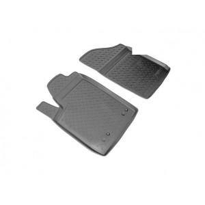 Коврики Peugeot Partner передние (02-) резиновые Norplast