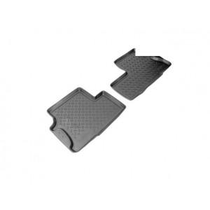 Коврики Peugeot Partner задние (02-) резиновые Norplast