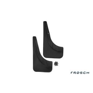 Брызговики задние FIAT Grande Punto 5D, 2005- (полиуретан) Novline - Frosch