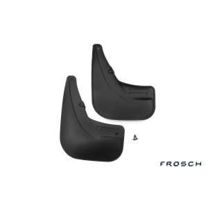 Брызговики задние FIAT DOBLO, 2006-2012 фург. 2 шт. (полиуретан) - Novline