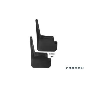 Брызговики передние JEEP Wrangler 2,4 doors, 2007-> 2 шт. (полиуретан) - Novline - Frosch