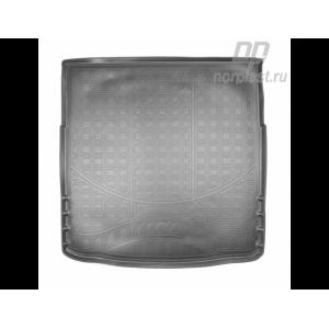 Коврик в багажник Opel Insignia седан (09-) ( с полноразм.запаской) полиуретановые - Norplast