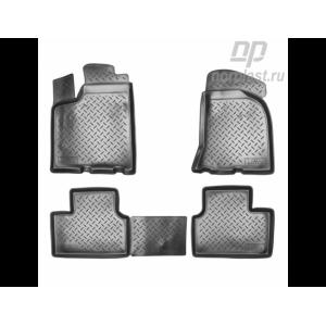 Ковры салонные VAZ 2110 резиновые Norplast