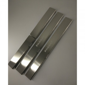 Накладки на пороги WV PASSAT B7 USA (NMS) 2012- 4 шт на метал Premium NataNiko