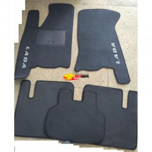 Коврики текстильные LADA 2110-12 серые в салон