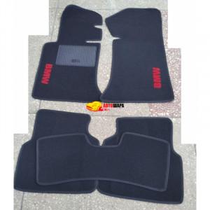 Коврики текстильные BMW 3 [E36] до 1998 черные в салон