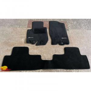 Коврики текстильные INFINITY EX(QX50) с 2008 черные в салон