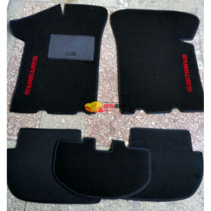 Коврики текстильные Lada 2108-2109 черные в салон