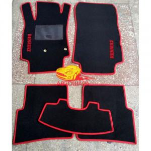 Коврики текстильные RENAULT MODUS с 2004 черные в салон