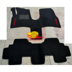 Коврики CITROEN C8 2002- текстильные черные в салон
