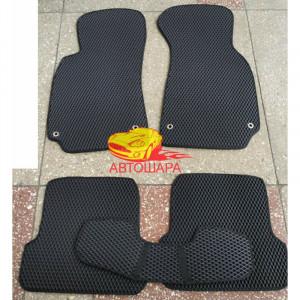 Коврики AUDI A4, B6 2000-2004 - из полимера - EVA