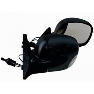 Зеркало боковое ЗБ 3298П-10/LADA 2110/BLACK/LED черн/пов