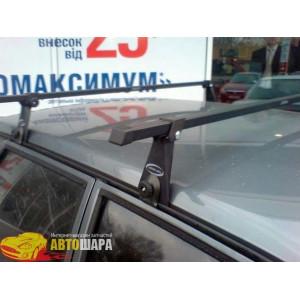 Багажник стальной на водостоки - В-120 - 120 см - Десна Авто