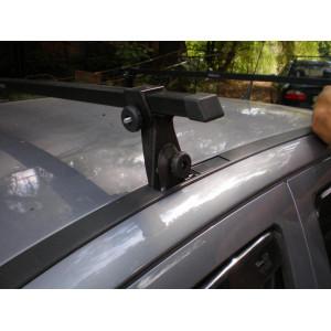 Багажник в штатные места - стальной профиль - Ш-32 - 120 см - Десна Авто