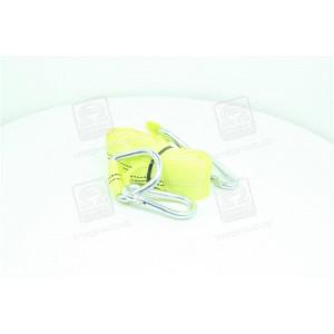Трос буксировочный 2т. 50мм. 4,5м. карабин, желтый, - Дорожная Карта