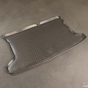 Коврик в багажник Hyundai Solaris хетчбек (11-) резиновые Norplast