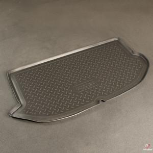Коврик в багажник Kia Soul (08-) твердый Norplast