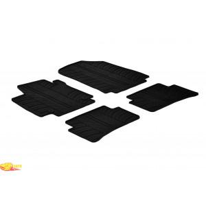 Резиновые коврики Gledring для Renault Captur 2013> / Clio (mkIV) 2013>