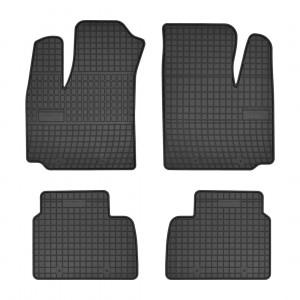 Резиновые коврики для Fiat Doblo (mkI)(1-2 ряд) 2001-2008  Frogum