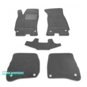 Двухслойные коврики для Volkswagen Passat (B5) 2001-2004 Sotra Premium 10mm Grey