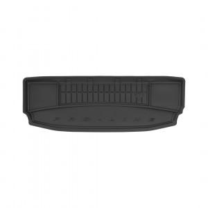 Резиновый коврик в багажник для SsangYong Rexton W (7 мест)(mkI) 2013→ (разложенный 3й ряд)(без доп. грузовой полки)(багажник) Frogum