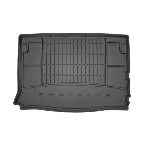 Резиновый коврик в багажник дляCitroen Berlingo (пассажирский)(mkI) 1996-2005 (без доп. грузовой полки)(багажник) Frogum