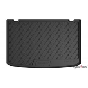 Резиновый коврик в багажник для Renault Clio (5 door hatch)(mkIV) 2012→ (trunk) Gledring
