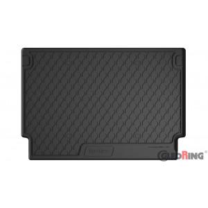 Резиновый коврик в багажник для Peugeot 5008 (mkI) 2009-2017 (trunk) Gledring