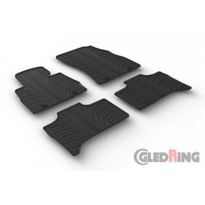 Резиновые коврики Gledring для BMW X5 (E53) 1999-2007