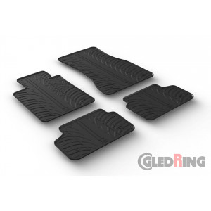 Резиновые коврики Gledring для BMW 5-series (G30-G31) 2017→
