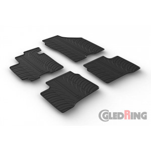 Резиновые коврики Gledring для Suzuki Swift (mkVI) 2017→