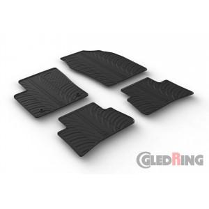 Резиновые коврики Gledring для Toyota CH-R 2017→