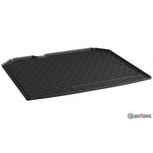 Резиновые коврики в багажник Gledring для Audi Q3 (mkI) 2011> (trunk)(with net organizers)