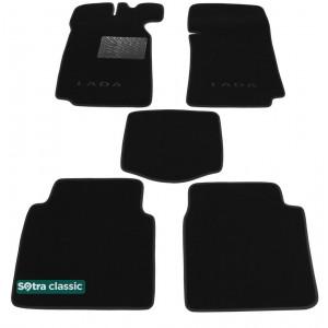 Двухслойные коврики VAZ 2101 / 2107 1970-2012 - Classic 7mm Black Sotra
