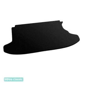 Коврик в багажник Daihatsu Terios (mkI) 1997-2006 - текстиль Classic 7mm Black Sotra