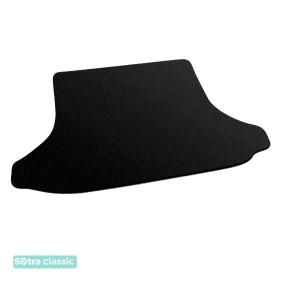 Коврик в багажник Chery Tiggo  2005→ - текстиль Classic 7mm Black Sotra