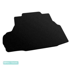 Коврик в багажник Chevrolet Epica  2006-2015 - текстиль Classic 7mm Black Sotra