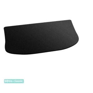 Коврик в багажник Daihatsu Materia 2006-2011 - текстиль Classic 7mm Black Sotra