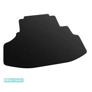 Коврик в багажник BYD F6 2007→ - текстиль Classic 7mm Black Sotra