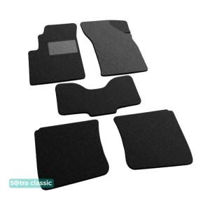 Двухслойные коврики Chery E5 2011→ - Classic 7mm Black Sotra