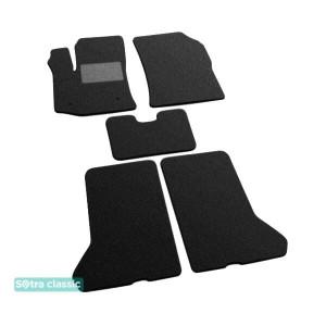 Двухслойные коврики Dacia Dokker 2012→ - Classic 7mm Black Sotra