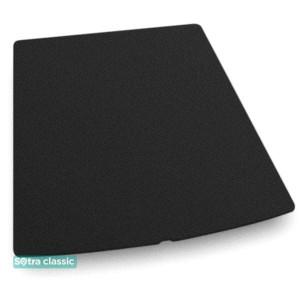 Коврик в багажник Tesla Model S  2012→ - текстиль Classic 7mm Black Sotra