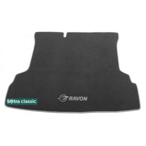 Коврик в багажник Daewoo Ravon R4 2015→ - текстиль Classic 7mm Grey Sotra